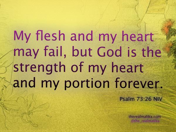 Meditation 1 - Psalm 73_26